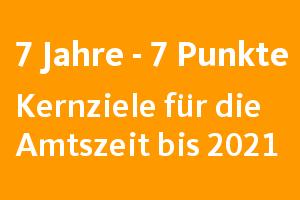 """""""7 Jahre 7 Punkte""""-Programm"""