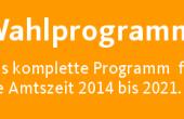 Wahlprogramm zur Bürgermeisterwahl 2014 in Neu Wulmstorf